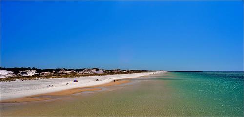 beach gulfofmexico sand lowtide panamacitybeach forida standrewsstatepark floridastateparks nikond3100 nikkor1855afsvrlens