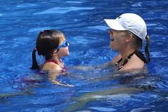 Chloe and Swim Instructor 1