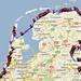 A rough plan for our 2011 bicycle tour of the Netherlands