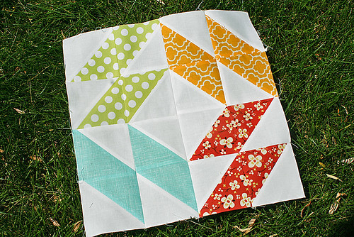 Summer Sampler Series: Mosaic block