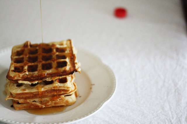 waffles with maple syrup | Flickr - Photo Sharing!