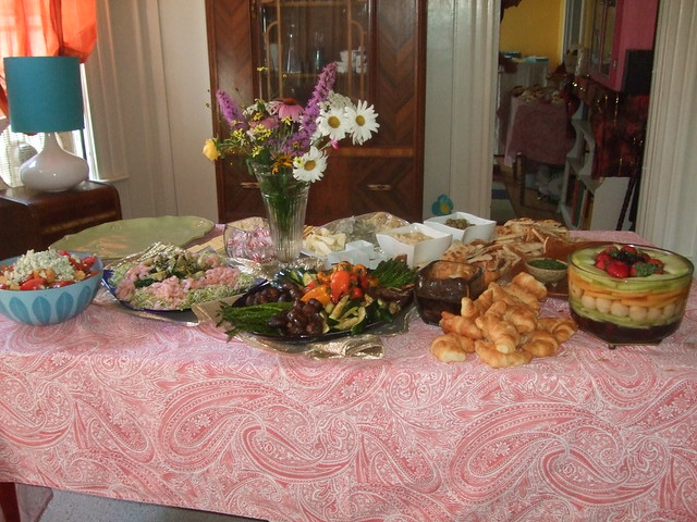 baby shower food table flickr photo sharing