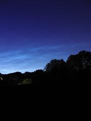 Noctilucient clouds