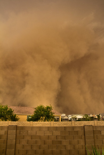 arizona az duststorm haboob rain clouds weather backyard home phoenix pm10 air quality airquality