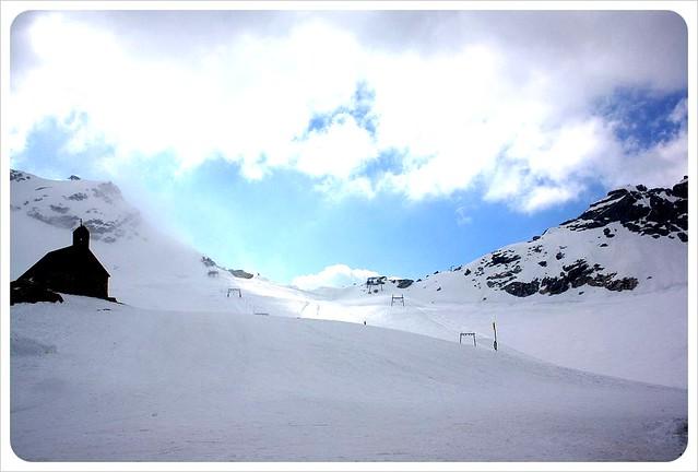 Zugspitze snow