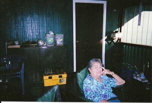 Grandma on the Lanai