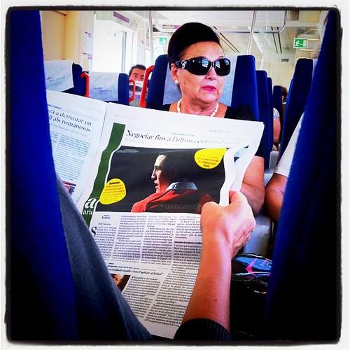 Tren. Regional exprés. #tren #tarragona #regional #diari #Ara
