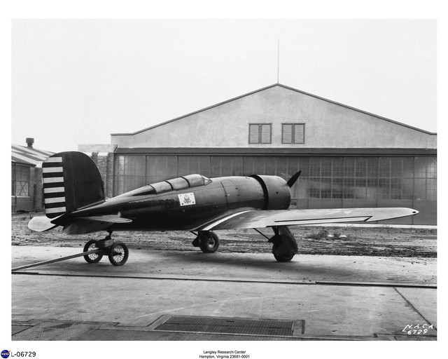 Lockheed-Detroit XRO-1 Altair 1932 (NASA)