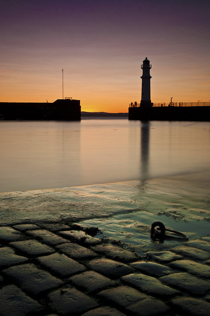 Newhaven Sunset 24 July 2011
