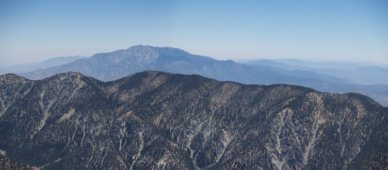 San Jacinto Peak from the San Bernardino Peak Trail