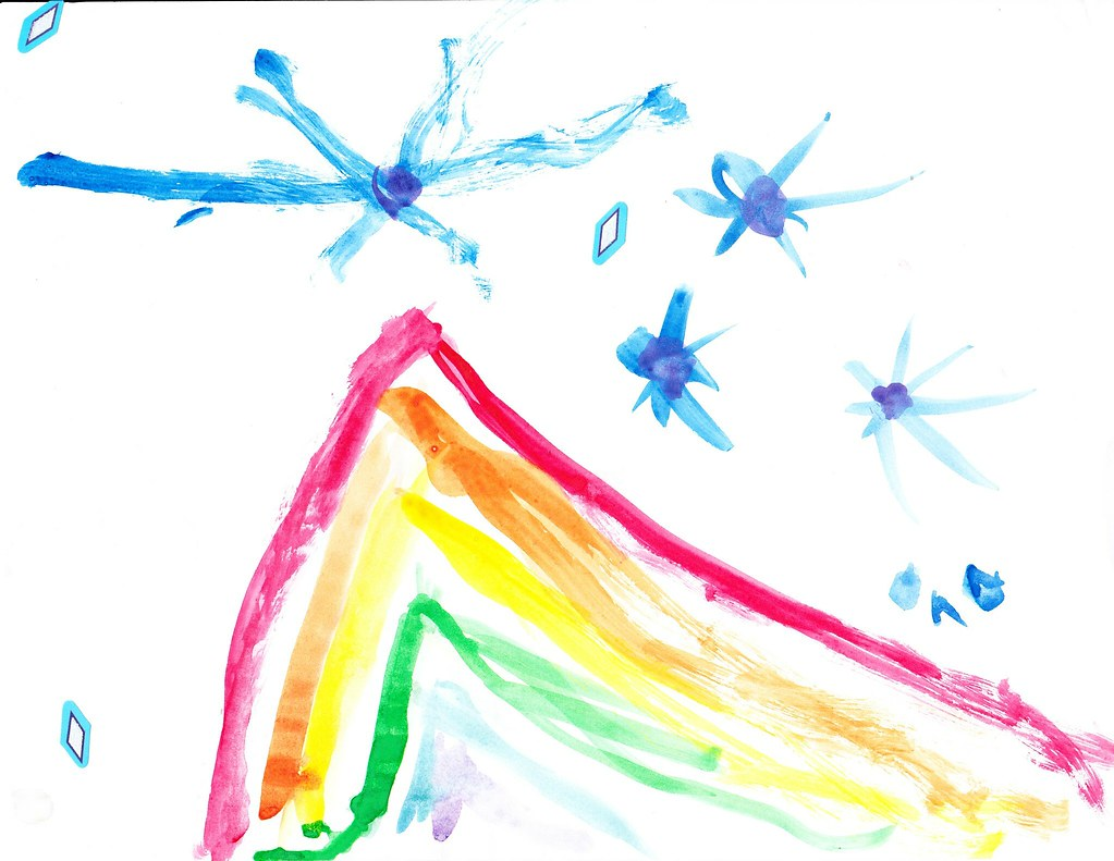 The Firework of Rainbows by Kate