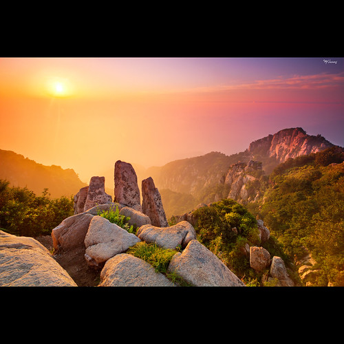china bridge sunset sunrise canon mount tai valley 7d mao confucius shan tamron immortal dong emperor taoism hoya
