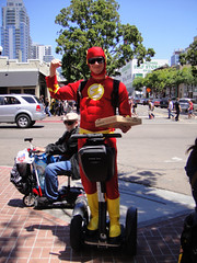 automobile, vehicle, segway, costume,