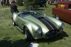 race car(1.0), automobile(1.0), vehicle(1.0), automotive design(1.0), antique car(1.0), classic car(1.0), vintage car(1.0), land vehicle(1.0), ac cobra(1.0), sports car(1.0),