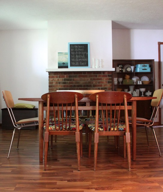 Craigslist Dining Room: This Girl's Life: {refinished Craigslist Chairs}