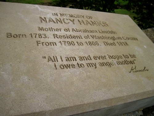 Nancy Hanks angel mother