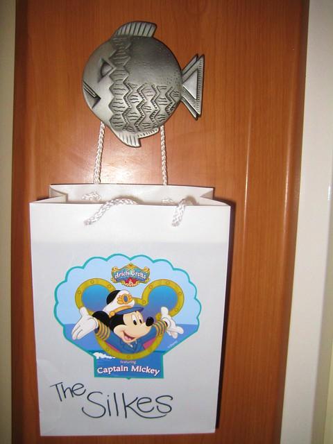 Disney cruise stateroom fish extender flickr photo for Disney cruise fish extender