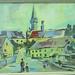 010739 Ottweiler Turm mit Menschen im Vordergrund