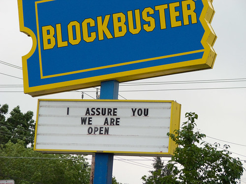 Blockbuster in 2012