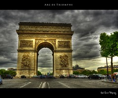 Day 221/365 Arc de Triomphe, Paris