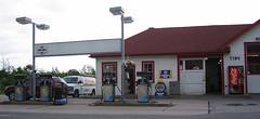 filling station, lighting,