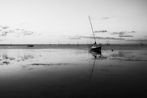 blackandwhite bw water clouds sailboat sunrise ma flat provincetown capecod cape reflecction giantonio kgiantonio kengiantonio