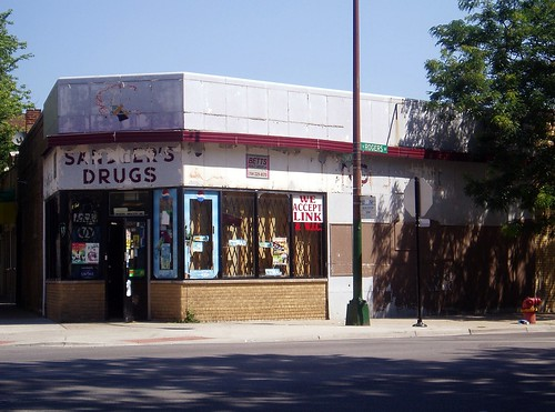 Sandler's Drugstore on Rogers