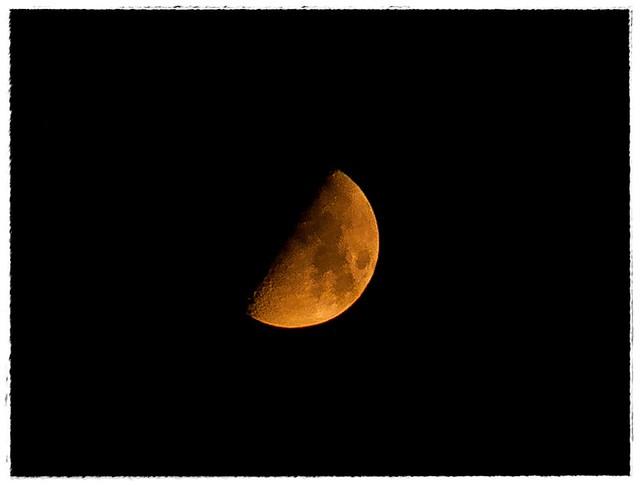 the Moon. 08.07.2011, Tel-Aviv