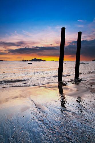 sunset landscape hongkong pentax 香港 日出 tuenmun k7 龍鼓灘 lungkwutan 屯門 flickrhongkong 日落晨昏 flickrhkma