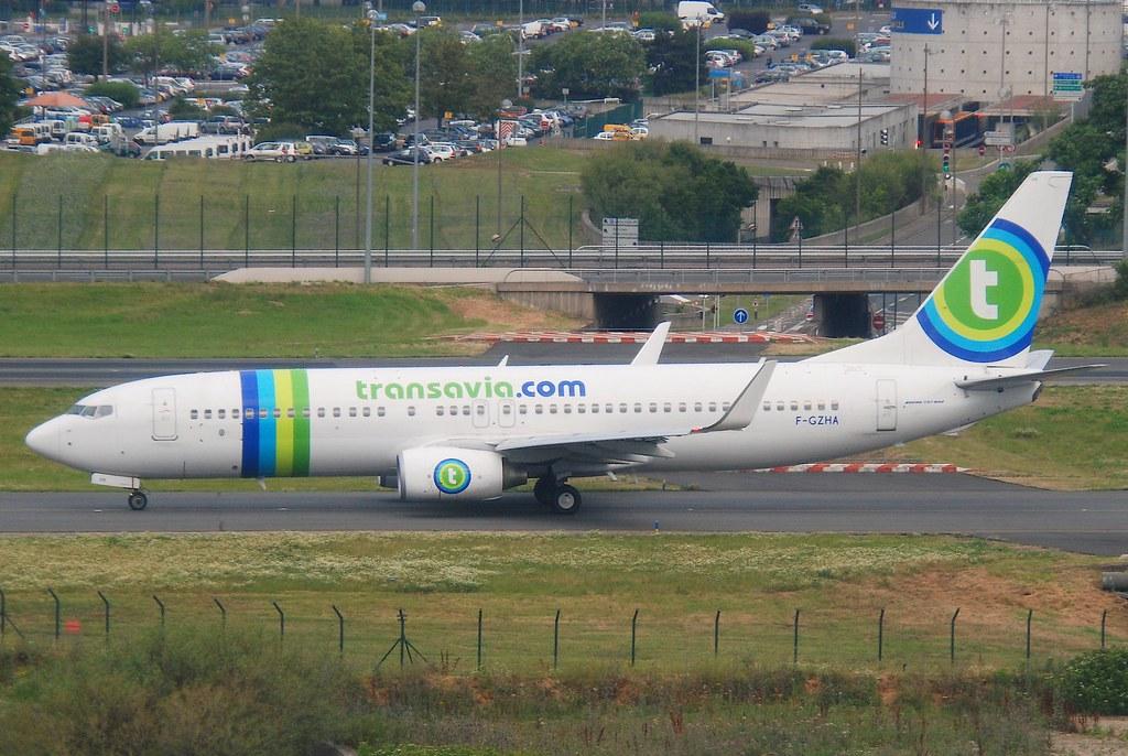 F-GZHA - B738 - Transavia France