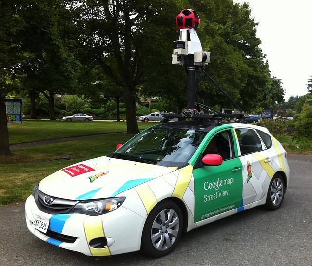 Google Earthストリートビュー撮影車