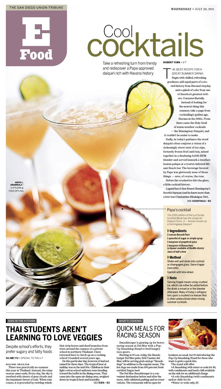 The Hemingway Diaquiri: My new favorite cocktail {link love}