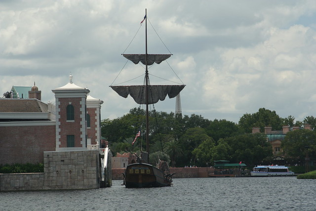 Images Ship in Epcot American Adventure Pavilion