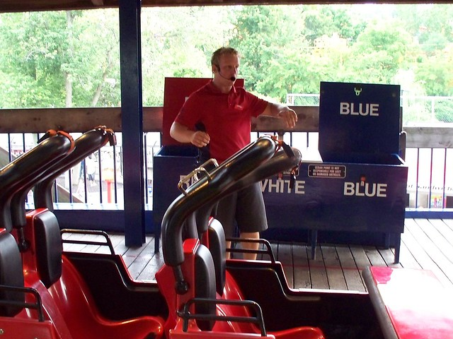 Cedar Point - Devan Corkscrew Ride Operator