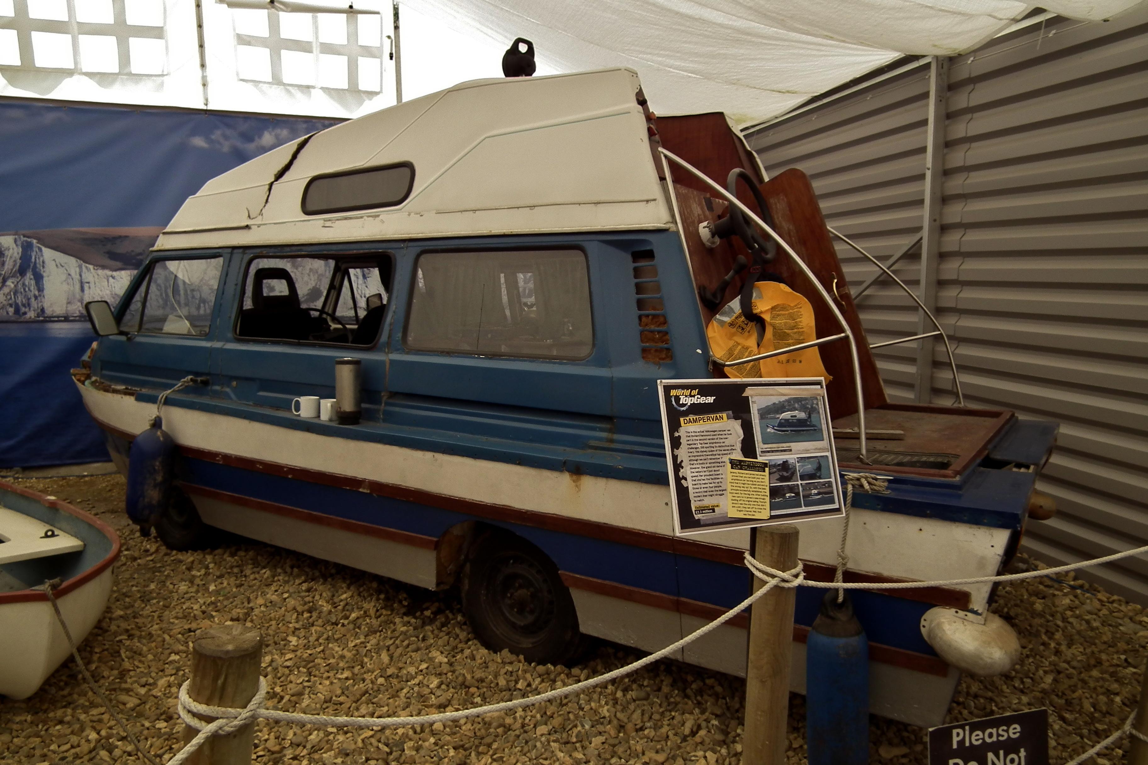 "1981 Volkswagen Transporter T3 ""Dampervan"" amphibious car - Top Gear   Flickr - Photo Sharing!"