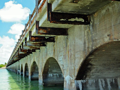 Overseas (Old) Highway Bridge, Missouri & Ohio  Key Channel