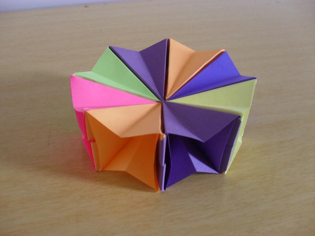 How To Make Easy Origami Magic Circle Fireworks | Diy Christmas ... | 768x1024