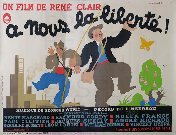 A Nous La Liberte Film De Rene Clair 1931 Imp Choppy