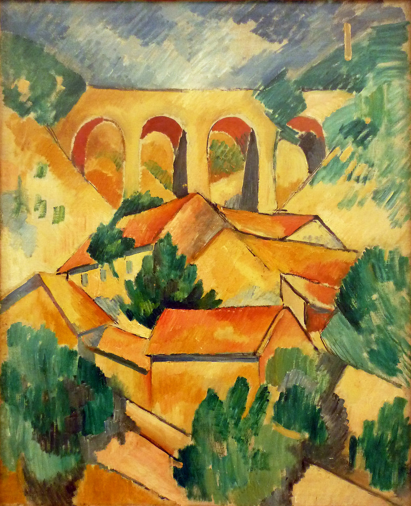Braque, Viaduct at L'Estaque