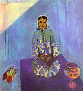Henri Matisse - Zorah on the Terrace