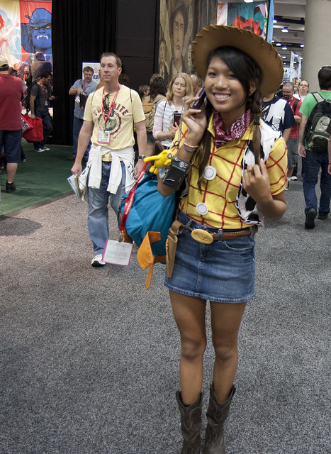 A Jessie Cowgirl Costume For Kids