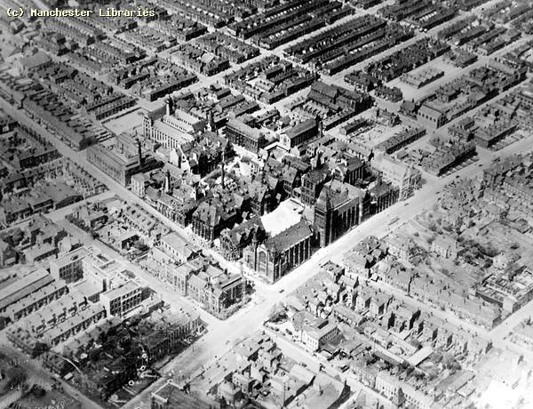 Aerial View Of Chorlton On Medlock 1926 Flickr Photo