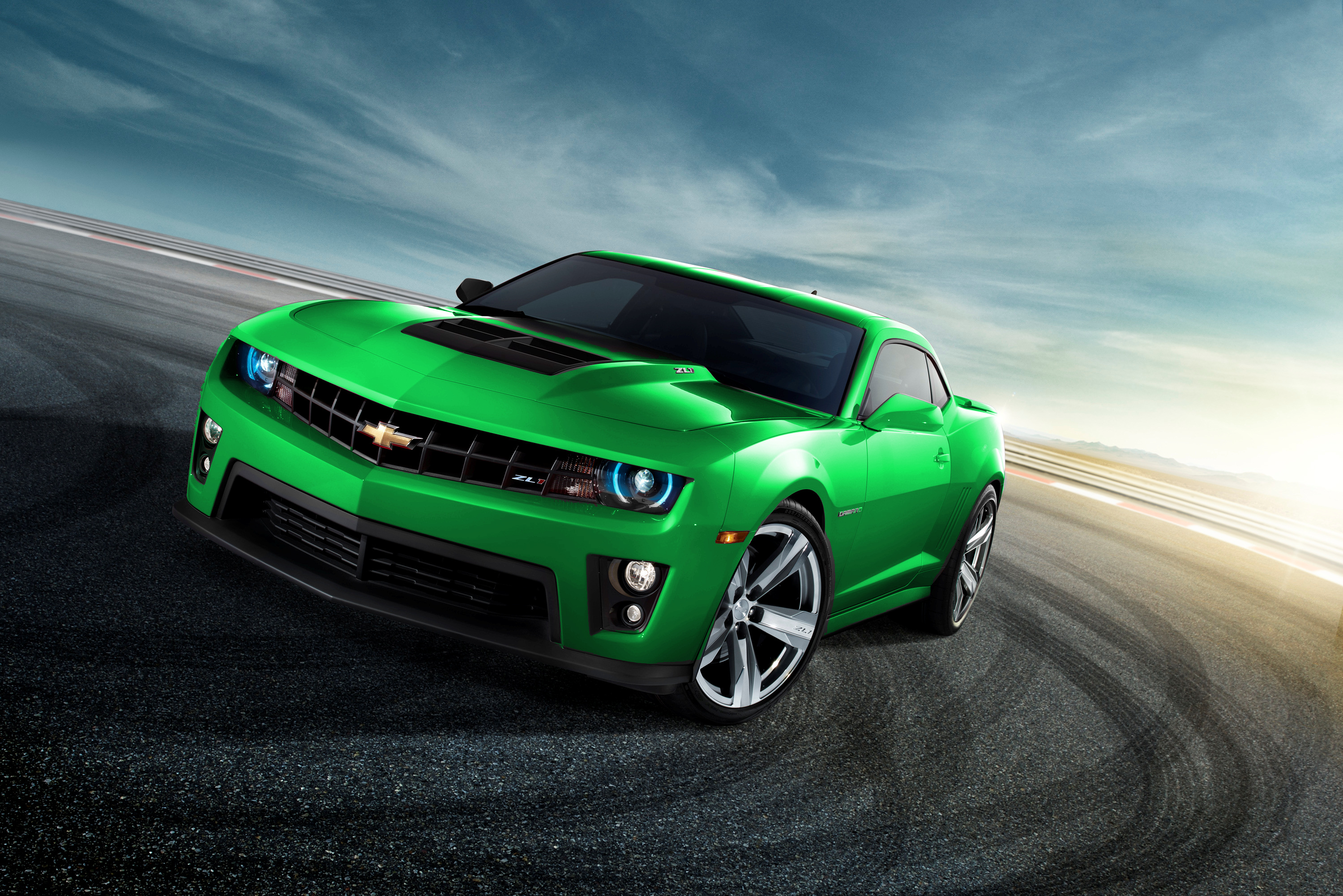 2012 Camaro Zl1 Green Flickr Photo Sharing