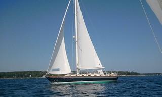 Azure under sail