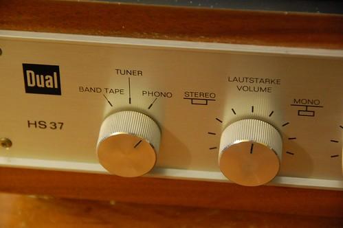 Dual HS 37 knobs