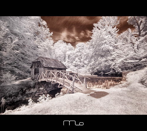 bridge house ny newyork mill museum iceage canon paper landscape ir photography waterfall poop marlboro infrared converted nik rebelxt dri gomez waterwheel watermill photomo 665nm digitalexposureblending mikeorso