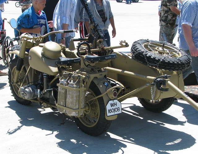 1943 Bmw R75 Military Motorcycle With Sidecar Amp Trailers