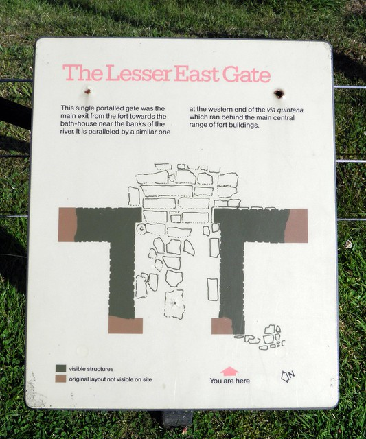 The Lesser East Gate, Chesters Roman Fort