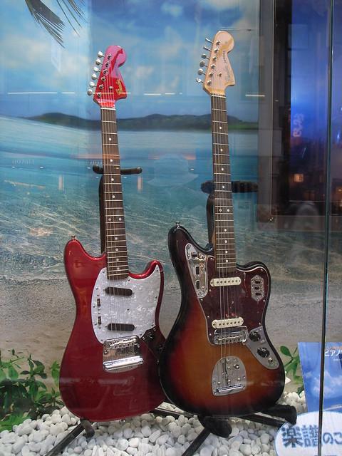Photo:Fender guitars By matsuyuki