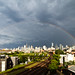 Double Rainbow Over Chicago by cshimala
